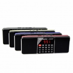 Портативный Радиоприемник FM Стерео/AM Super Bass Bluetooth-динамик Таймер Сна Радио FM Y4364