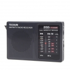 Tecsun FM/AM Радио 2 Группы Компактный Радио 64-108 МГц Приемник FM Radio Recorder R202T Y4126H