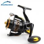 12   1BB 5.5 : 1 металл спиннинг рыболовная катушка пече рыбы колеса спиннингом рыболовные снасти 2000 - 7000