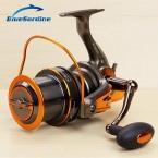 13   1BB 4.6: 1 Металл Спиннинг Катушка Рыбалка Большой Морской Колеса Троллинг Surf Катушки 8000 9000