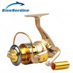 Спиннинг Катушка Рыбалка pesca катушки Рыболовная Катушка Золотой Металл Катушка 10BB 5.5: 1