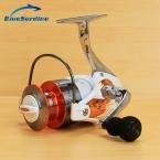 12   1BB 5.5 : 1 полностью металлический спиннинг рыболовная катушка колеса белый катушка спиннингом рыболовные снасти