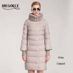 MIEGOFCE  пуховик зимний женский пальто пуховик новый бренд одежды Зимняя Одежда Модный Женский Пуховик  Утолщение Парка куртка пальто женское кроличья шерсть открытый теплое пальто