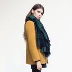 [VIANOSI] высокое качество плед шарф женщины Сгущает Мягкая Зима шарф Мода Платки и Шарфы DS033