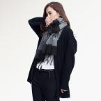 [ Vianosi ] теплый шарф женщин кисточка зима шарф женщины шали мягкий платки DS063