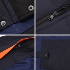 ICEbear  Высокое Качество Теплые мужские Био-Пуховик Водонепроницаемый Повседневная Верхняя Одежда Толщиной Средней Длины Пальто Мужчины Куртка 16MD899