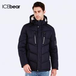 ICEbear  Новая Мода мужская Одежда Ветровка Спортивная Открытый Зимние Теплые Куртки И Пальто Для Мужчин 16MD881