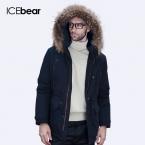 ICEbear  Высокое Качество Зимняя Куртка Мужчины Сгущает Пальто Известный Хлопка Мягкой Моды Парки Бизнес Плюс Размер 5XL16M623D