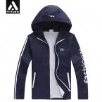 Новых людей Легкие Тонкий Полосатый Защита От Солнца Quick Dry Куртки Плюс Размер 6XL 5XL 4XL Человек Моды С Капюшоном пальто