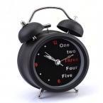 Счастливый дом новинка классический номер / английский ретро двухместный белл стол настольные часы 1 шт.