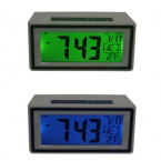 Мода Творческий Умный Часы LED Повтор Синий Зеленый Будильник Календарь Температура Счастливые Подарки Высокое Качество