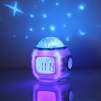 A96 Лучше 1 шт. Дети Спят Sky Star Ночник Проектор Лампы Спальни Будильник музыка Горячей