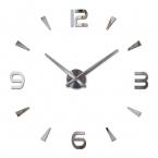 новый настенные часы кварцевые гостиная diy часы современный дизайн часы horloge murale Акриловое зеркало 3d наклейки бесплатная