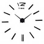 новые часы часы horloge смотреть Акриловые зеркало на Стене Наклейки реального Кварц Гостиной Современный 3D DIY Колокол бесплатная
