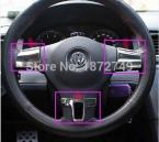 Для Volkswagen VW Tiguan/Туран/Passat B7/Passat CC ABS Chrome руль крышка руль украшения