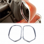 1 Пара Chrome Зеркала Обложка Планки Левый Правый Набор Для Honda GL1800 2006 2007 2008 2009 2010 2011 [PA394]