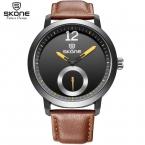 SKONE Марка Повседневная Мода мужская кварцевые часы Спортивные Часы relogios masculinos montre homme