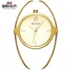 WEIQIN  Роскошные Женские Часы Известных Брендов Золото Дизайн Моды Браслет Часы Дамы Женщины Наручные Часы Relógio Femininos