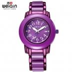 Weiqin женщины одеваются часы бренда аналоговые кварцевые часы дамы мода часы часы девушки наручные часы  montre роковой reloj хомбре