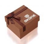 SKONE Лук Кофе Квадратной Формы, Бумага Подарочная Коробка Упаковка Для Наручные Часы Коробки