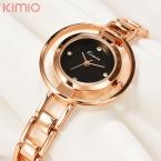 Kimio браслет часы женщины hardlex наручные часы для женщин женские часы из розового золота элегантный montre femme  relogio feminino