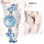 Люксовый бренд kimio браслет часы из нержавеющей стали женщины кристалл смотреть элегантный звезда кристалл алмаза наблюдать за леди клевер