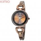 Оригинальные KIMIO Старинные Часы с Sharp Стекло Циферблат Дамы Женщины Браслет Наручные Часы Часы