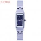 """Kimio bling моды """"кристалл элегантных женщин леди браслет из нержавеющей стали кварцевые часы"""