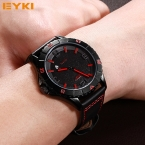Топ Люксовый Бренд EYKI мужская Водонепроницаемый Спорт Кварцевые Наручные Часы для Мужчин Электронные Наручные Часы Подарки
