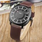 ПРОЛЕТ EYKI Люксовый Бренд мужская Кожаный Ремешок Водонепроницаемый Кварцевые Творческий Наручные Часы Часы для Мужчин