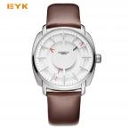 EYKI двойное Слои стерео Скелет циферблат человек часы  Роскошные Брендовые мужские часы модные спортивные часы для мужчин кварцевые -часы