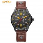 EYKI Военная кварцевые мужские спортивные часы Уникальный неделя Дата человек часы  брендовые Роскошные наручные часы Мужские часы Relogio Masculino