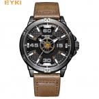 EYKI модные спортивные часы Мужчины стереоскопического набором уникальный самолет указатель мужские часы  Элитный бренд часы мужские наручные часы