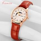 EYKI Moon, часы  Элитный бренд женские часы Водонепроницаемый кварц-часы женские часы с кожаными ремешками