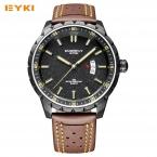 EYKI красочные искры узор юношеская спортивная большой циферблат часы для мужчин календарь световой человек часы  Роскошные Брендовые мужские часы