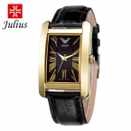 Женские наручные часы Julius. Элегантный дизайн Корея. Кожанный ремешок разных цветов. Для подарка на день рождения Элегантные наручные часы. Унисекс. JA-787
