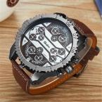 5.8 см большой набор OULM часы мужской будущего часы Montres de MARQUE De Luxe Relojes Lujo Marcas мужчины в стиле милитари часы erkek Saat