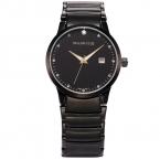 Люксовый бренд тейлор коул черный стальной браслет дата Relogio Feminino женщины мода часы часы леди платье часы / TC022