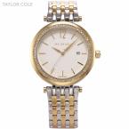 Тейлор коул Relogio люксовый бренд платье часы золото серебро полный стали горный хрусталь леди браслет женщины наручные часы / TC014