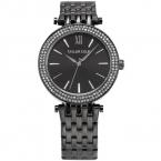 Люксовый бренд тейлор коул леди браслет наручные часы горный хрусталь чехол черный браслет из нержавеющей стали женщины мода платье часы / TC004