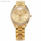 Тейлор коул люксовый бренд женщин платье часы золотые Relogio авто дата горный хрусталь браслет часы леди мода кварцевые часы / TC010