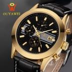 Механические Часы Скелет Мужчины наручные часы Человек часы Кожа Relogio Masculino Роскошные Мода Повседневная Наручные Часы reloj hombre