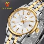 Мужские часы OUYAWEI Элитный бренд мужской часы механические часы Бизнес наручные часы автоматические часы мужские часы Relogio Masculino