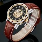 OUYAWEI Элитный бренд часы механические часы мужские деловые наручные часы Автоматическая рука ветер часы мужские часы Relogio Masculino
