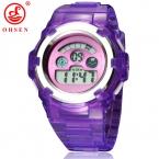 Подруги детей часы моды случайные часы кварцевые наручные часы водонепроницаемый желе дети часы мальчиков часов девушки студенты наручные часы