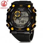 Новинка  года мужские спортивные часы OHSEN бренд сигнализации хронограф цифровой светодиодный Платье для улицы наручные часы военные часы Relogio Masculino