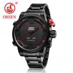 Ограниченная серия  Hardlex Alloy часы из нержавеющей стали с бесплатной доставкой Новые мужские спортивные кварцевые наручные часы в стиле милитари, 6 цветов