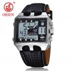 Прямая распродажа  спортивных и походных-милитари часов  марки  Genuine с кожанными ремешками. Наручные часы марок  Relogio, Masculinos, Clearance
