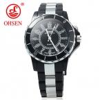 OHSEN мужские часы модные повседневные часы кварцевые наручные часы Водонепроницаемый со светодиодной подсветкой мужские часы для мальчиков и девочек спортивные часы женские наручные часы