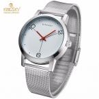 Kingsky роскошные женские часы простые женские кварцевые часы мужчины часы серебряный браслет из нержавеющей стали платье часы Relogio feminino